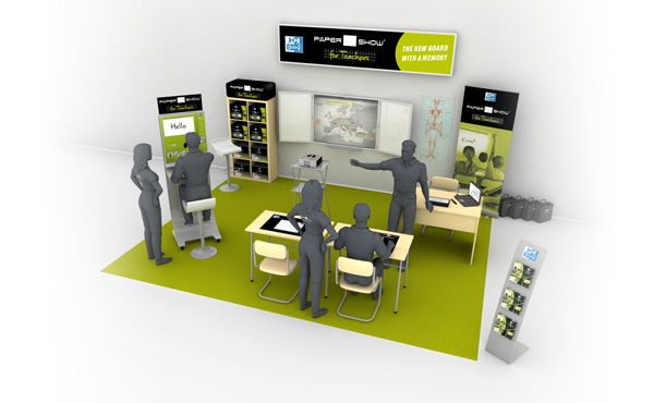 Stand Papershow Oxford Unik Studio 3D
