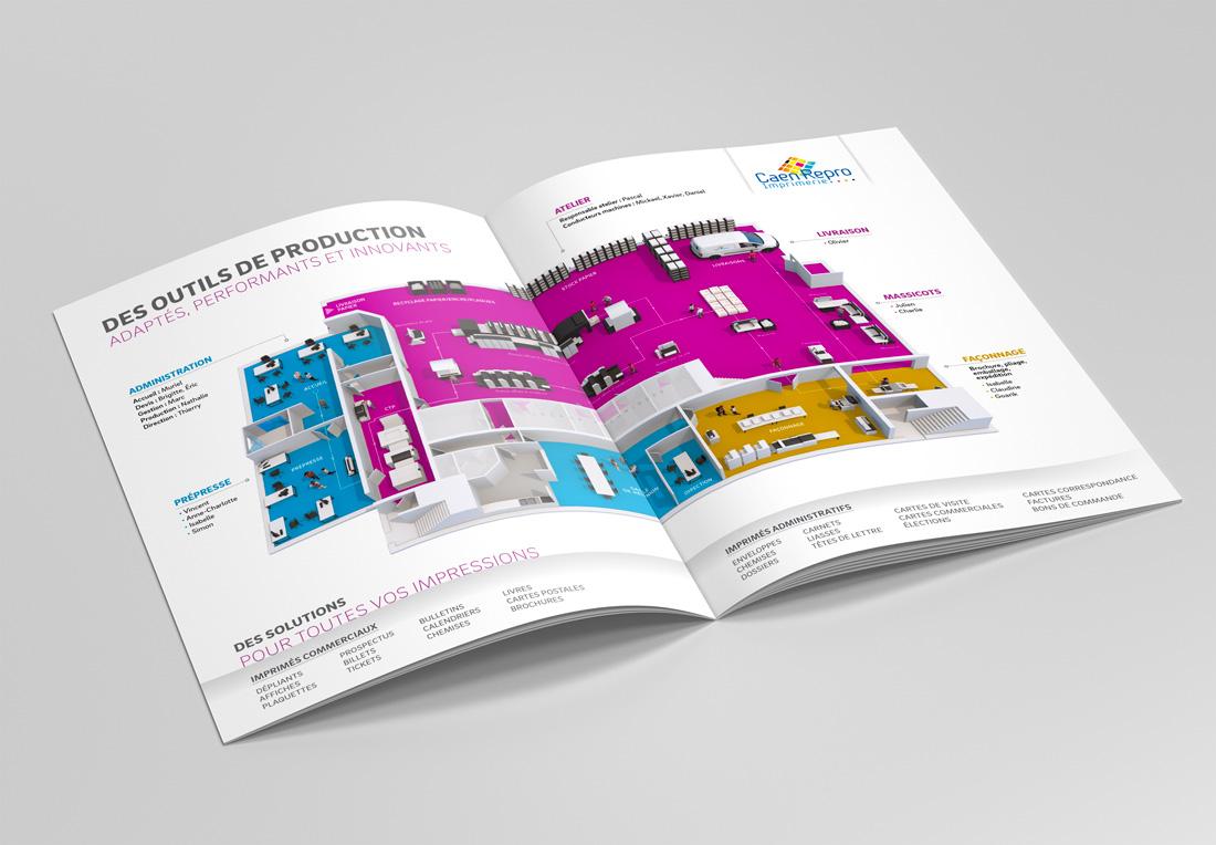 Mock-up infographie imprimerie 3D Unik Studio 3D