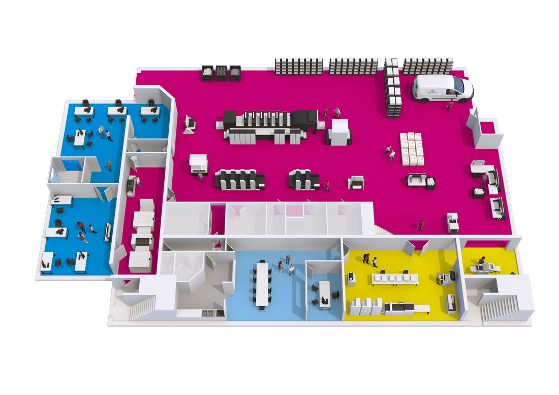 Infographie imprimerie 3D neutre Unik Studio 3D