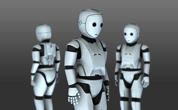 Cool Robot Oxford Unik Studio 3D